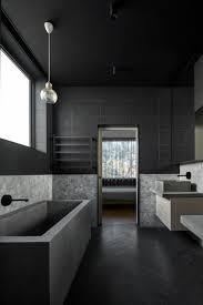 Graue Einrichtung Badezimmer Modern Holz Dusche Glaswand And Luxus