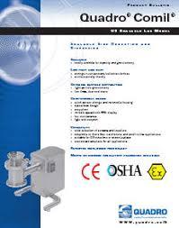 Brochure Quadro Comil U5 Lab Conical Screen Cone Mill