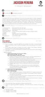 It Project Manager Sample Resume
