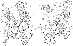Small Picture Coloring Care Bear Care Bears Coloring Pages Care Bear