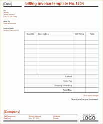 Get Simple Invoice Template For Openoffice Pics