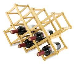 bamboo wine rack. Modren Bamboo Wine Rack  Kovot Fresh Fun And Functional Home Accessories Intended Bamboo