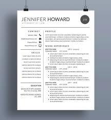 Modern Resume Formatg Modern Resume Template Cv Cover Letter Creative Resume Designs