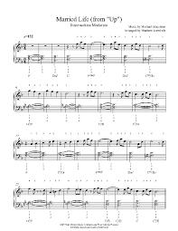 Don't want to memorize dozens of chords? Married Life By Michael Giacchino Piano Sheet Music Intermediate Level Clarinet Music Piano Sheet Music Pop Piano Sheet Music