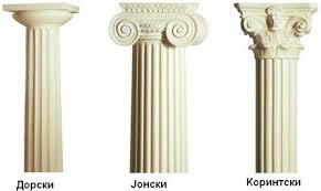 Резултат слика за грчка култура стилови
