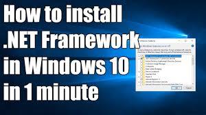 install net framework 3 5 2 0 3 0