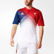 useful adidas white dark blue men red power rugby jerseys rugby france exterior fashion