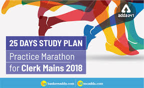 ibps clerk mains practice marathon 25 days study plan day 23 pdf