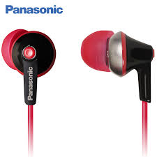 <b>Panasonic RP HBE125MEK In Ear wired</b> with microphone ...