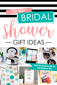 the best bridal shower gift ideas