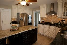 backsplash pictures for granite countertops. Remodeled Kitchen In Yorktown Virginia With Custom Cabinets, Island, Tiled Backsplash, Granite Backsplash Pictures For Countertops