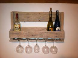 very simple wood wall mounted wine rack storage with holder made from reclaimed pallet ideas redwood racks closet rustic modern stand stainless steel tall