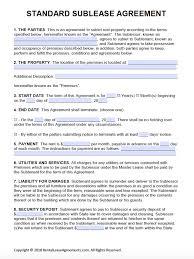 basic lease agreement template renters agreement form hypertextsolutions
