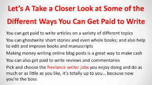 make money writing online lance writer jobs make money writing online lance writer jobs
