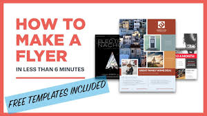 Design And Print Flyers For Free Free Flyer Maker How To Make A Flyer Lucidpress