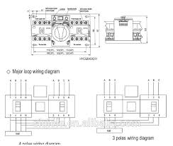 3 pole changeover switch wiring diagram meetcolab 3 pole changeover switch wiring diagram hycq5 63g 63a 3 poles or 4 poles
