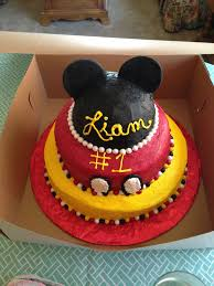 Mickey Mouse First Birthday Cake 430 Classic Style Mickey Mouse