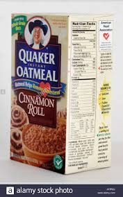 miami beach florida packaging box quaker instant oatmeal cholesterol nutrition facts