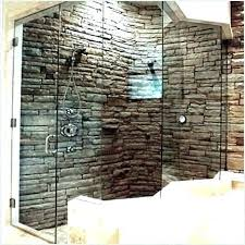 stone showers stacked stone tile shower faux stone tile extraordinary faux tile shower wall panels stone