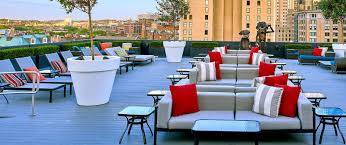 amp; Poolside In Common Hotel Rooftop Revere Lounge Bar Boston OF5zWxw4q