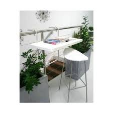 Hanging Balcony Table The Urban Balcony Polyvore