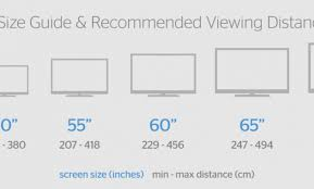 13 Rational Samsung Tv Size Chart