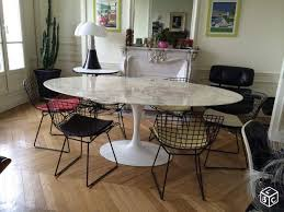 tables tulip marbre ovales saarinen édition knoll ameublement paris leboncoin fr knoll tablesaarinen tableroom kitchenbauhaus furnituredining