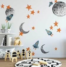 urban wall decals spaceships