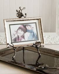 michael aramblack orchid easel photo frame