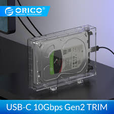 <b>ORICO 2.5</b> 3.5inch HDD Enclosure Type C 10Gbps <b>Hard</b> Drive SSD ...