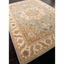 ivory area rug 8x10 rugs hand tufted oriental pattern wool blue ivory area rug billie hand