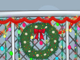 wikihow diy room decor ways to add deco mesh a tree southern charm wreaths on