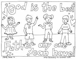 Small Picture Free Christian Coloring Pages for Young and Old Children Level 2