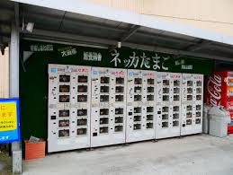 Egg Vending Machine Delectable Japanese Egg Vending Machine Vends Eggs SoraNews48
