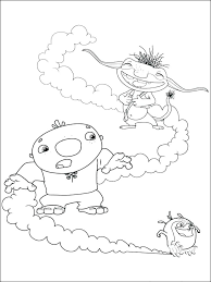 Wallykazam Coloring Pages Nick Jr Coloring Pages Wallykazam