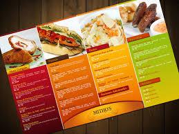 Restaurant Menus Layout Sample Restaurant Menu Printing Ideas To Wow The Senses