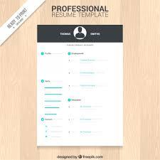 Word Resume Template Free Modern Modern Resume Templates Free