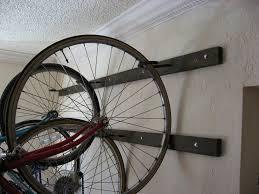 furniture hanging bike rack unique dan and i just finished building a wall hanging bike