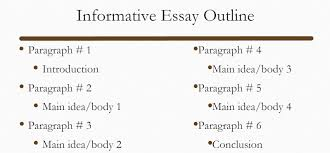 The Step By Step Instruction On How To Write An Informative Essay