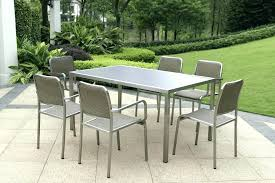 stainless steel patio furniture steel tables and chairs outdoor tables metal patio furniture clearance stainless steel