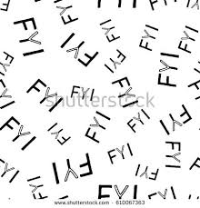 stock vector fyi hand drawn lettering seamless template vector illustration quote backdrop handwritten 610067363 fyi stock images, royalty free images & vectors shutterstock on warning notice template