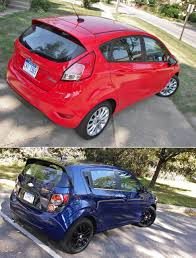 2014 Ford Fiesta SE and 2014 Chevrolet Sonic LT - Shift-It ...