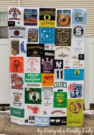 T Shirt Quilt Patterns New Diary Of A Crafty Lady Making Your Own Tshirt Quilt