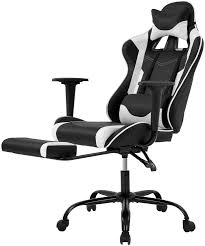 USA Ergonomic Racing <b>Gaming Chair</b> High Back <b>Leather Office</b> ...