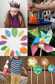 summer holiday garden crafts for kids