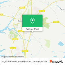 how to get to elijah blue salon in