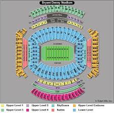 Alabama Football Seating Chart Related Keywords