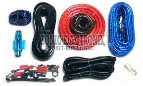visonik v channel amplifiers sonic electronix 4 gauge amplifier kit purchase 50 retail value