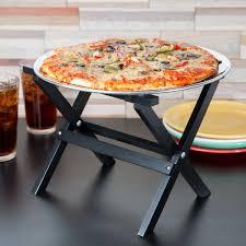 Tablecraft Rtt21bk 9 14 Mini Table Tray Stand With Black Finish
