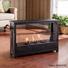 southern enterprises layton portable indoor outdoor fireplace